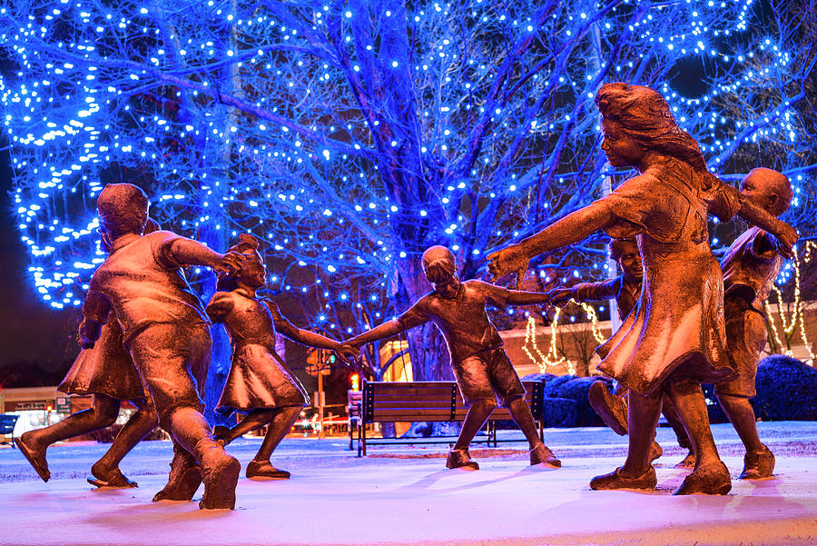 Blue Tree Play by Thomas Gaitley