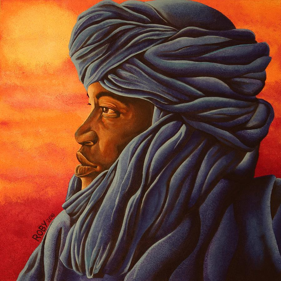 Blue Tuareg by William Roby