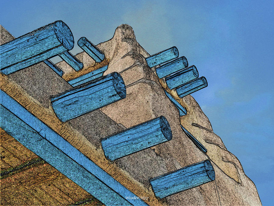 Blue Vigas by WiseWild57