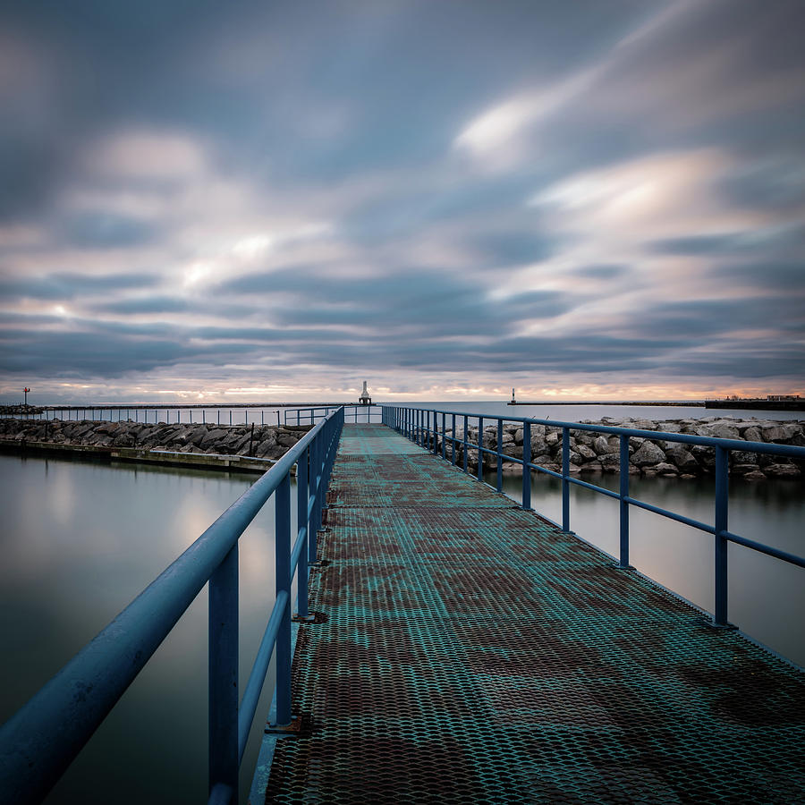 Blue Walk by James Meyer
