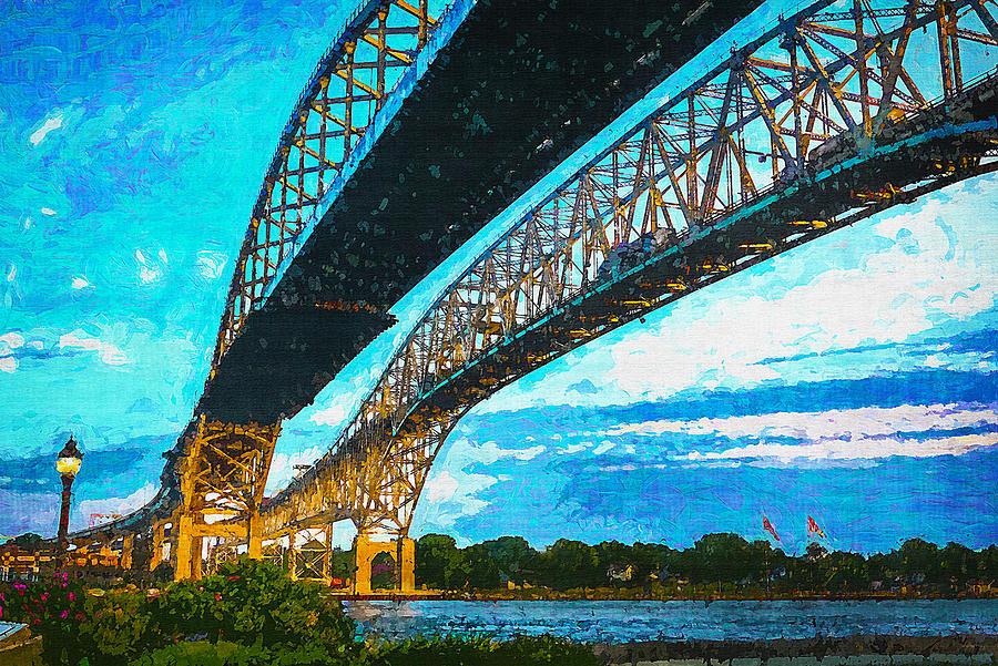Blue Water Bridge 17 by Cliff Guy