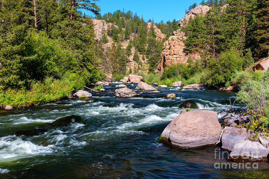 Blue Water on the Platte by Steve Krull