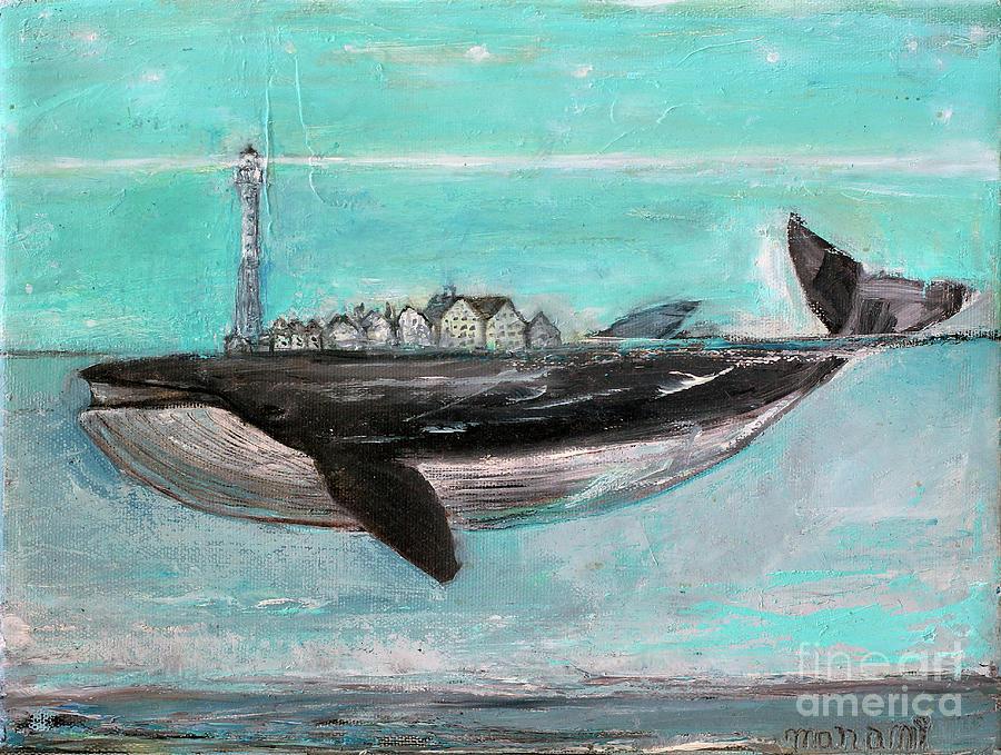 Blue Whale village by Manami Lingerfelt