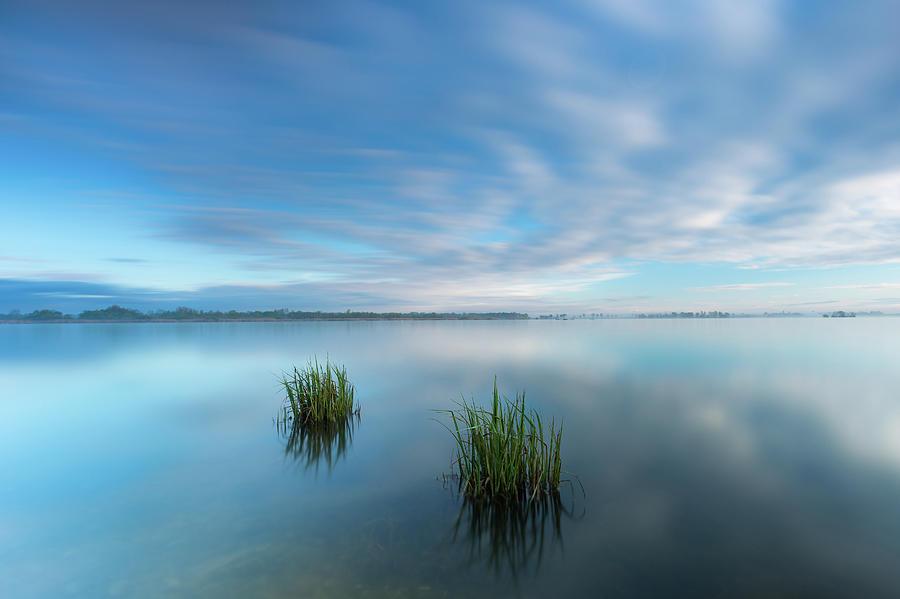 Blue whirlpool by Davor Zerjav
