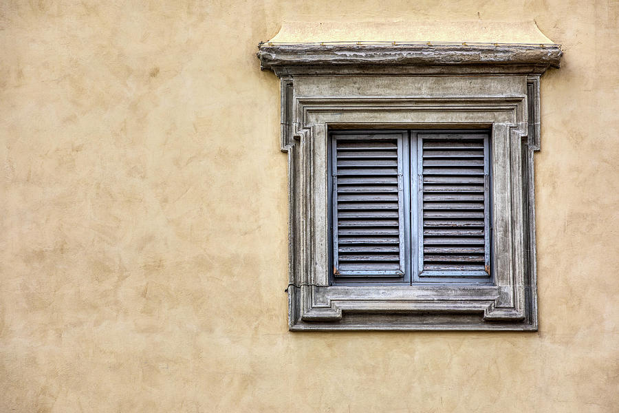 Blue Window of Florence by David Letts