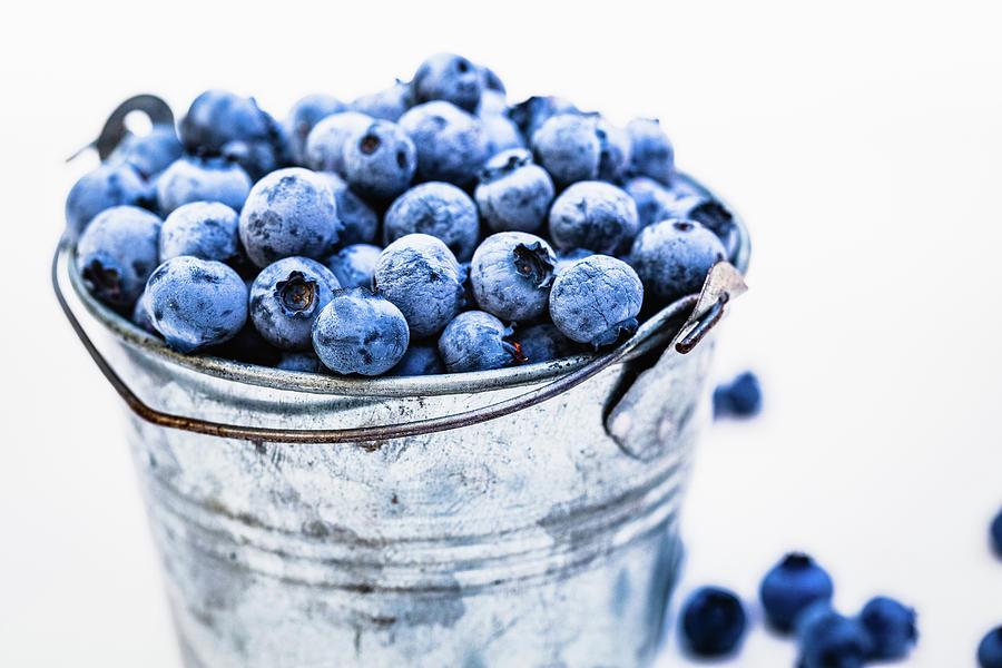 Blueberries Photograph by Deimagine