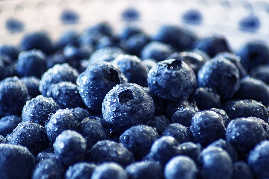 Blueberries by Top Wallpapers