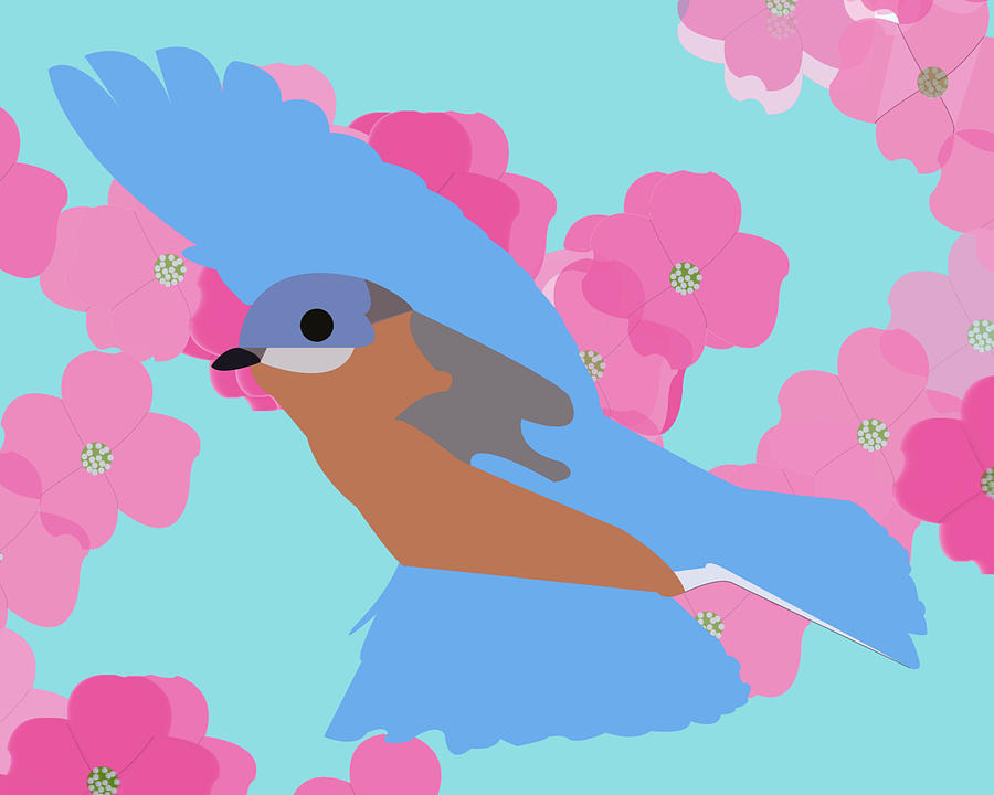 Bluebird by Caroline Elgin