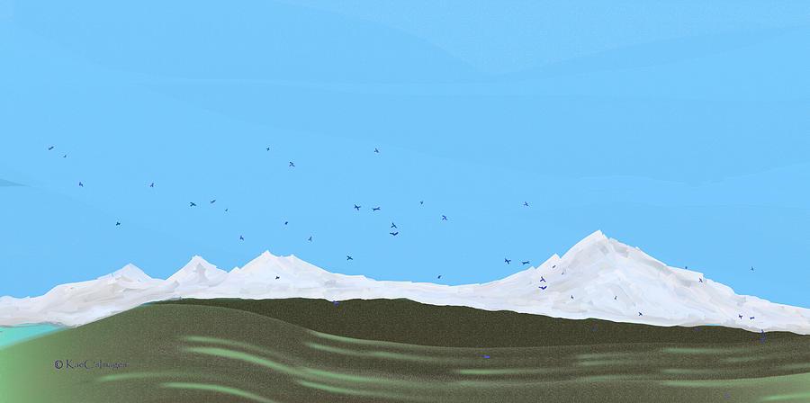 Bluebirds Return by Kae Cheatham