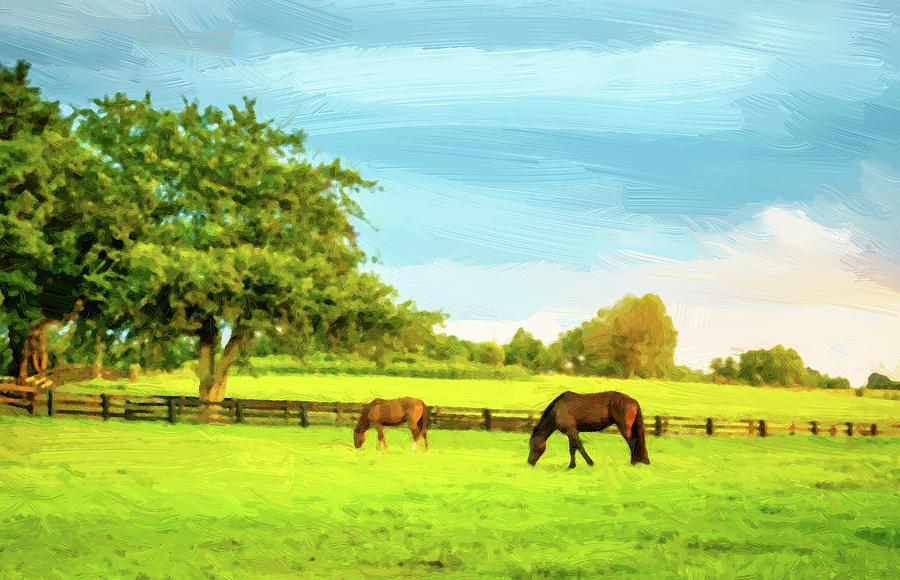 Bluegrass Scenic Digital Art
