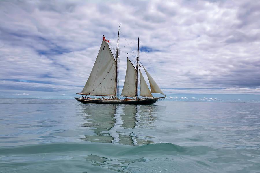 Bluenose II Lake Michigan by Patti Raine