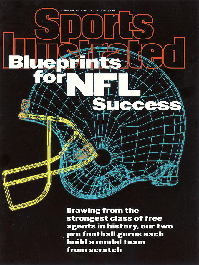Blueprints For Nfl Success Sports Illustrated Cover Photograph by Sports Illustrated