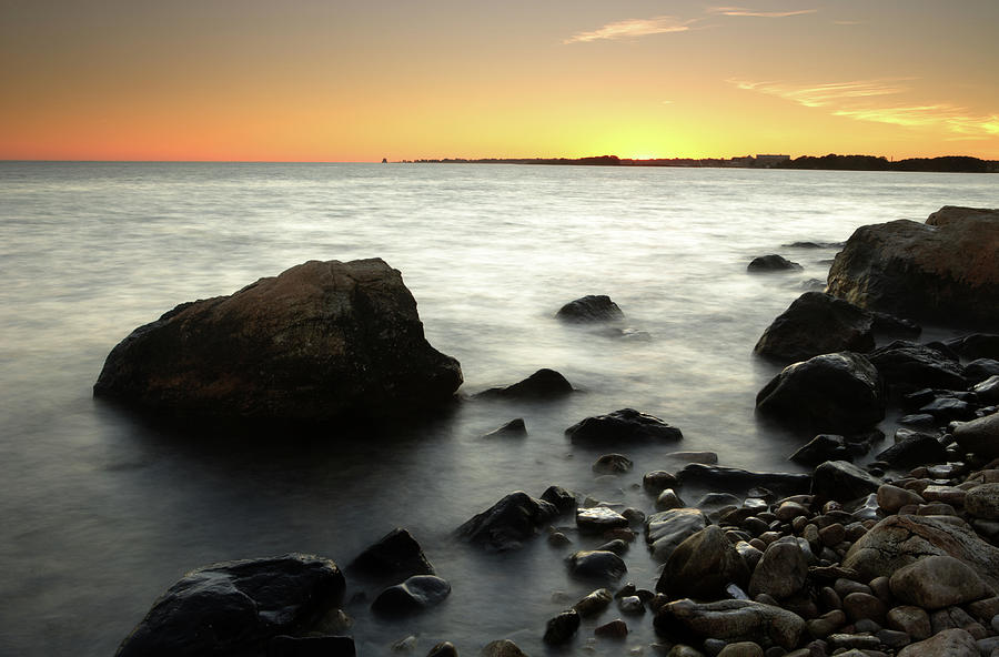 Bluff Point Sunset Photograph by Ericfoltz