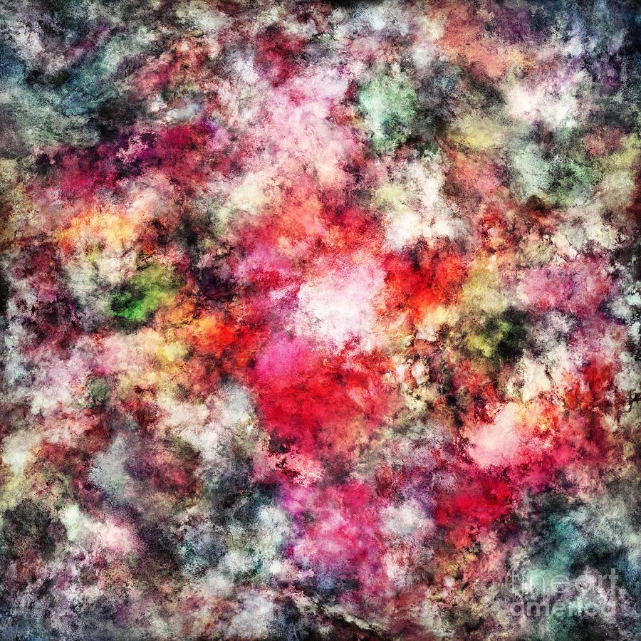 Soft Digital Art - Blush by Keith Mills