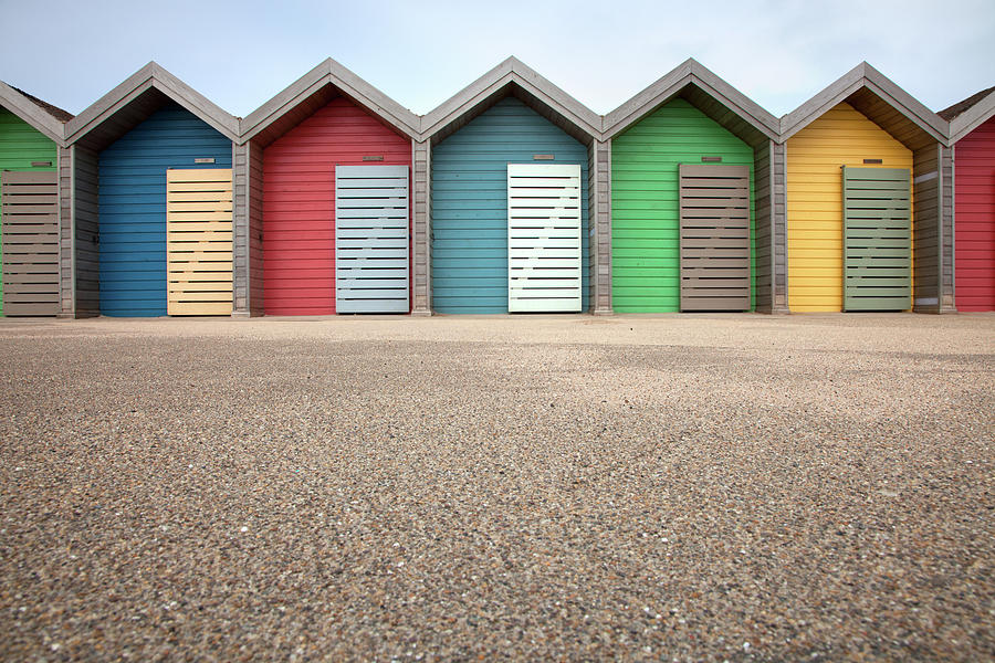 Blyth Beach Huts Photograph by Billy Currie Photography