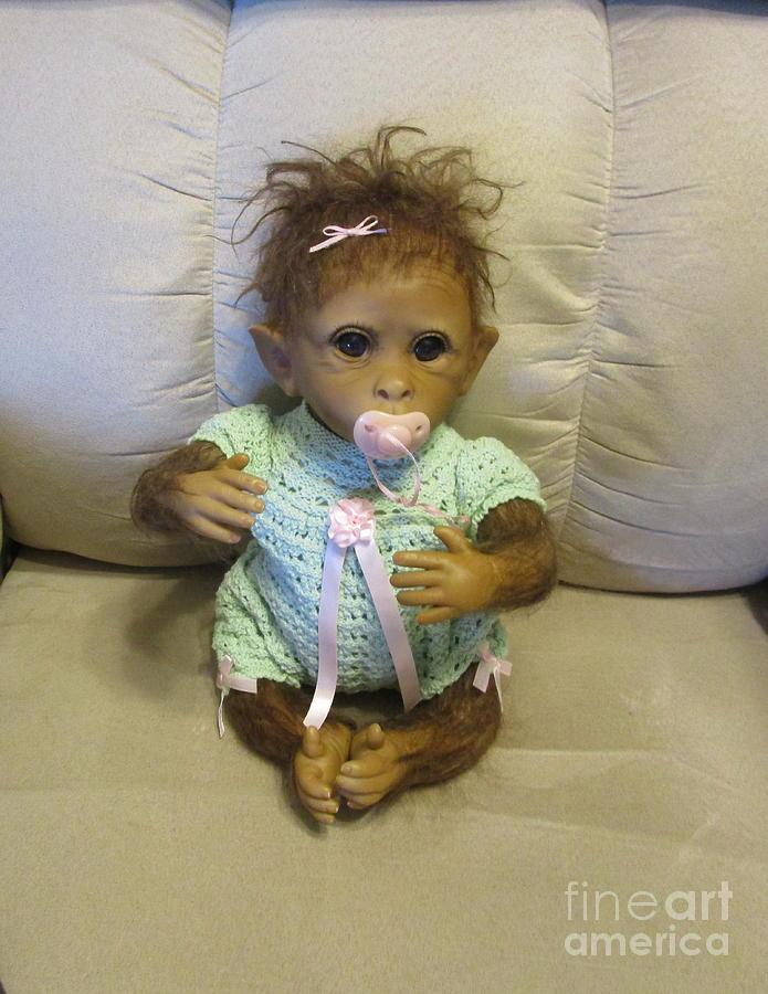 BM  Baby Monkey by Marie Neder