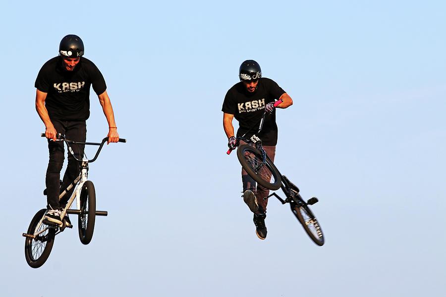 Bmx Stunts Photograph