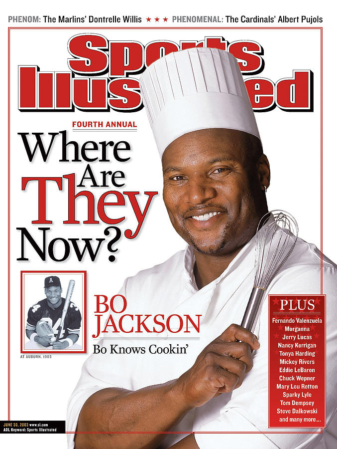 Bo Jackson, Where Are They Now Sports Illustrated Cover Photograph by Sports Illustrated