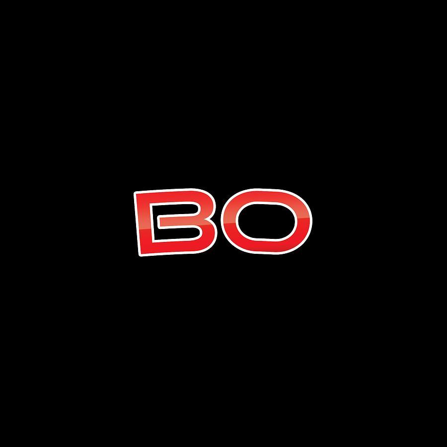 Digital Digital Art - Bo by TintoDesigns