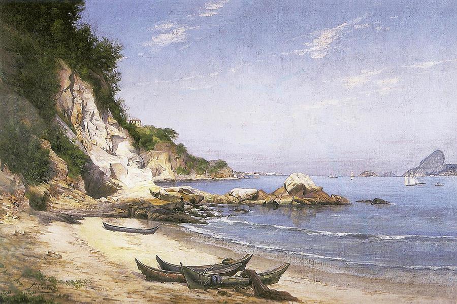 Boa Viagem Beach, Niteroi by Hipolito Boaventura Caron
