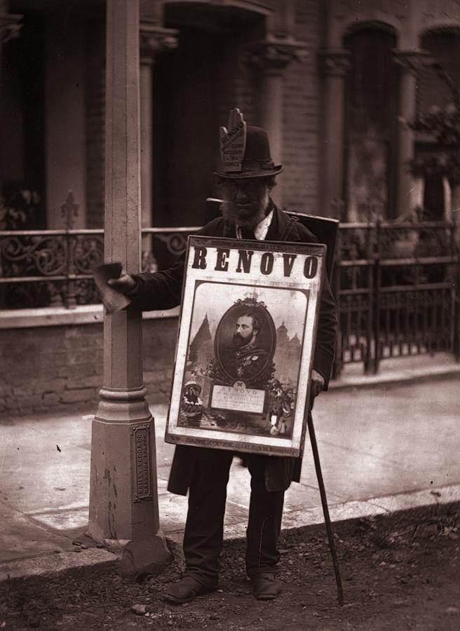 Board Man Photograph by John Thomson