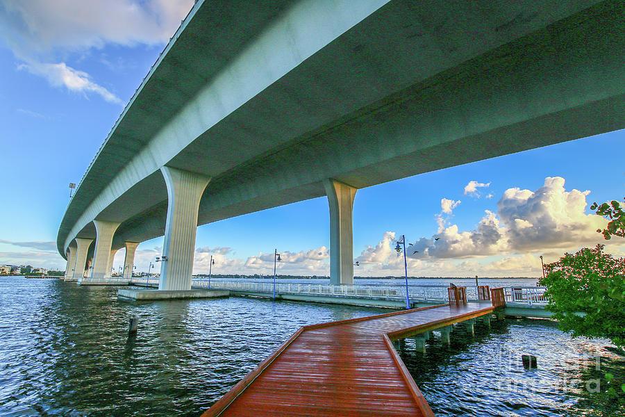 Boardwalk Bridge View by Tom Claud