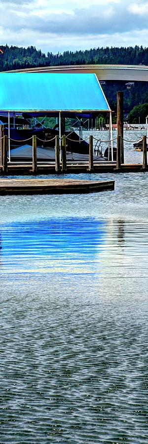 Boat Awning Reflected by Jerry Sodorff