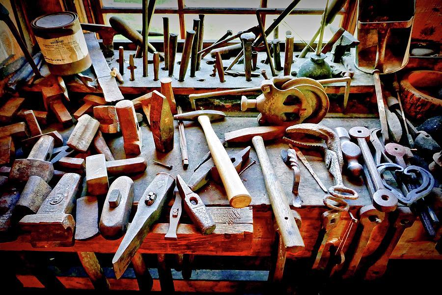 Boat Building Tools Photograph