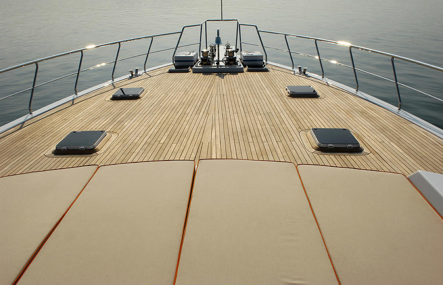 Boat Deck Photograph by 1001nights