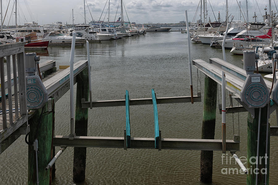 Boat Lift Photograph