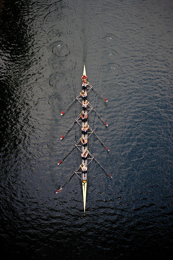 Boat Race Photograph by Fuse