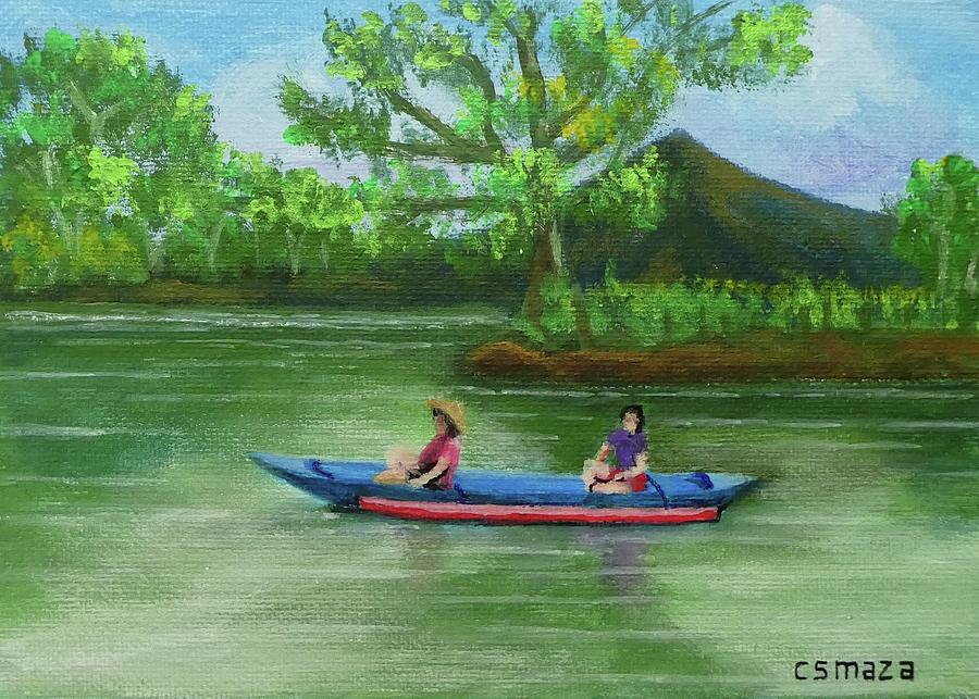 Boat Ride Painting