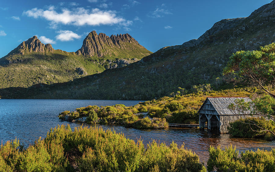 Boat Shed - Cradle Mountain Photograph