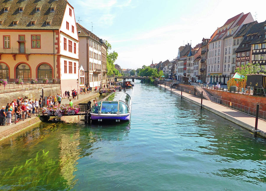 Boat Tour Strasbourg France by Emmy Marie Vickers