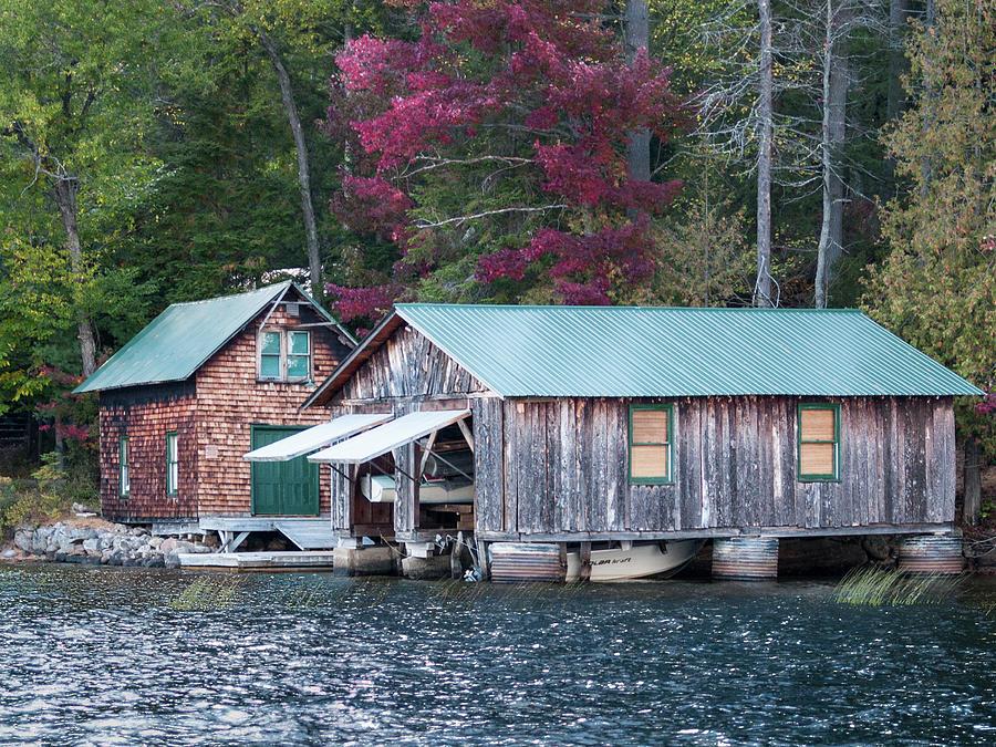 Boathouse by Stewart Helberg