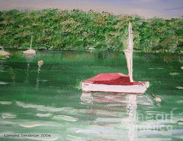 Boating by Lorraine Sanderson