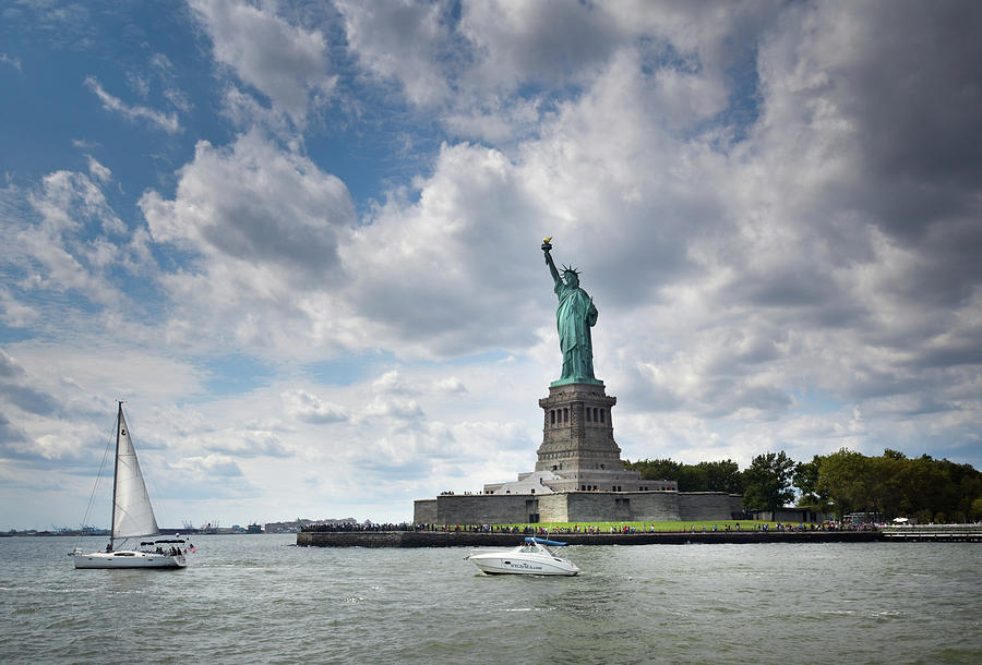 Boats And Liberty by Chrystal Mimbs
