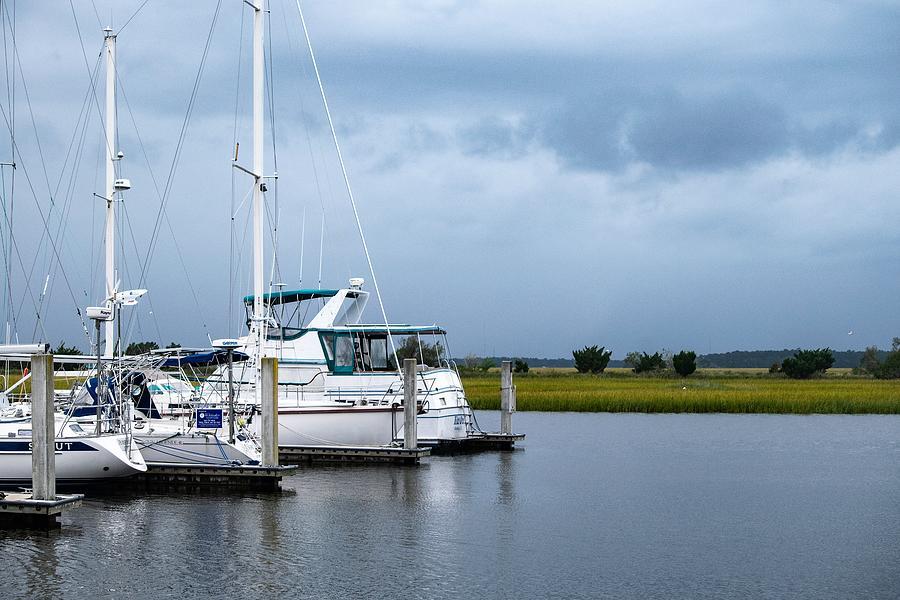 Boats At Brunswick Landing Marina 2