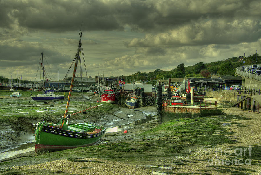 Leigh On Sea Photograph - Boats At Leigh On Sea  by Rob Hawkins