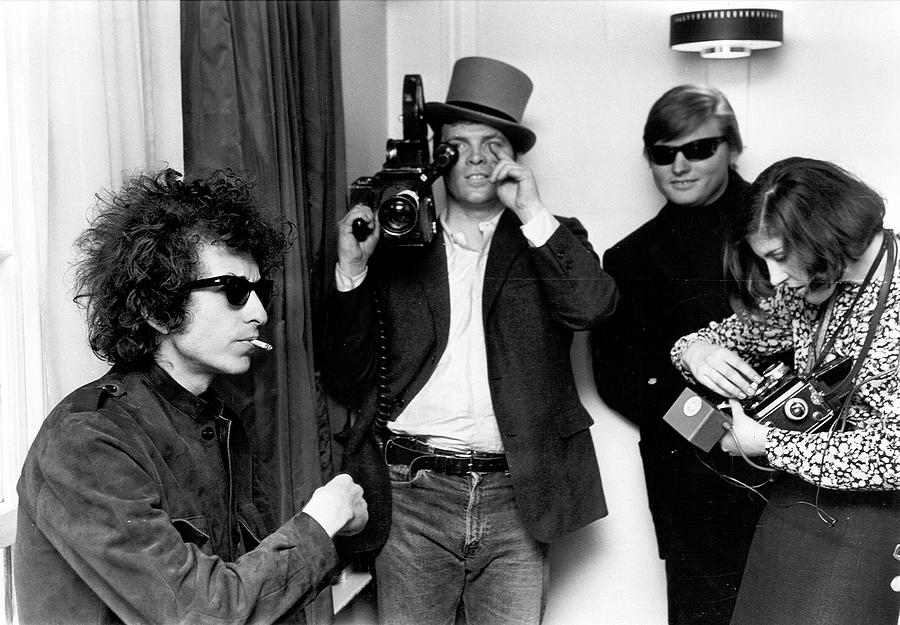 Music Photograph - Bob Dylan & D.a. Pennebaker From Dont by Michael Ochs Archives