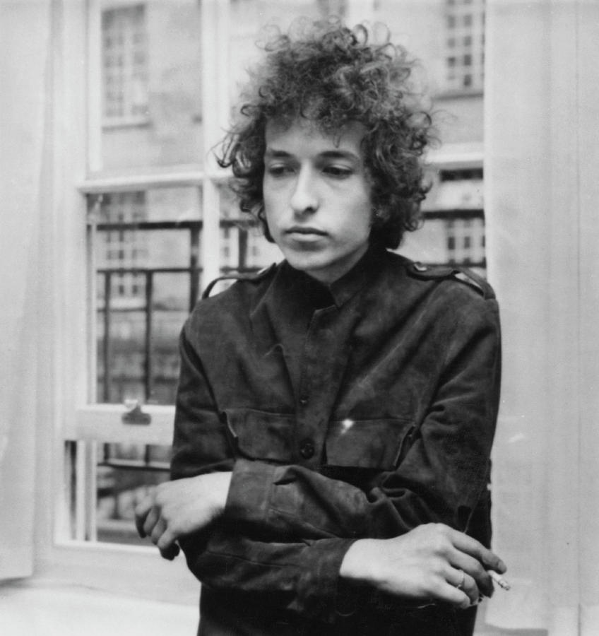 Bob Dylan 1966 Photograph by Express Newspapers