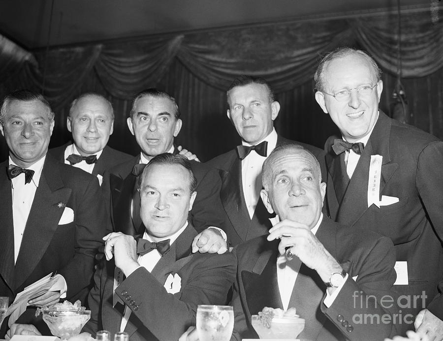 Bob Hope And Friends At Friars Banquet Photograph by Bettmann