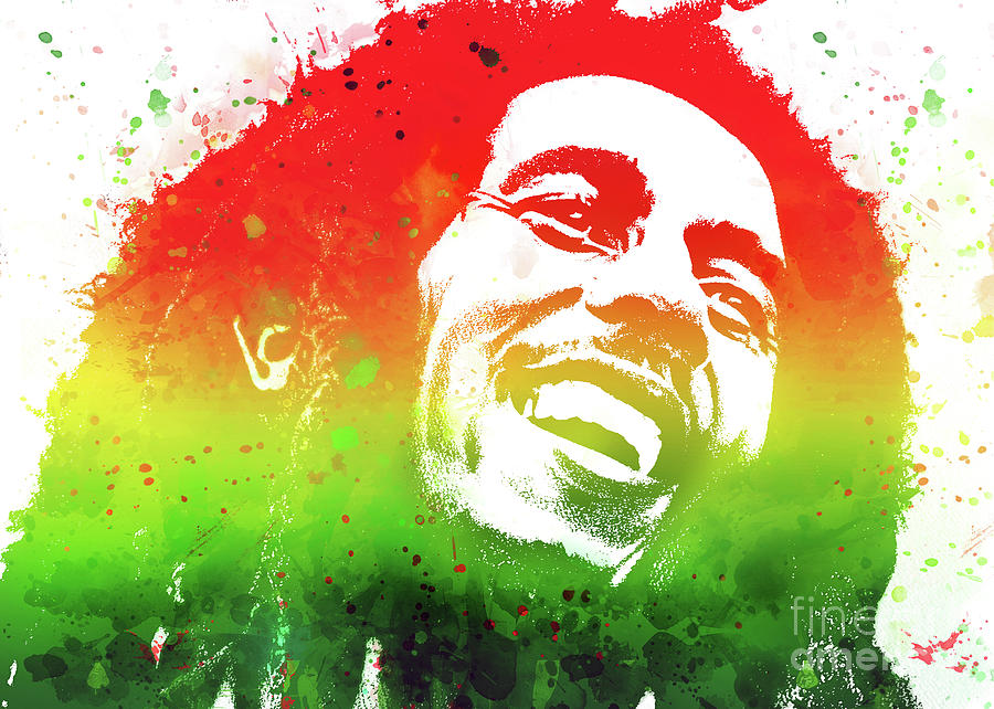 Bob Marley by Ian Mitchell
