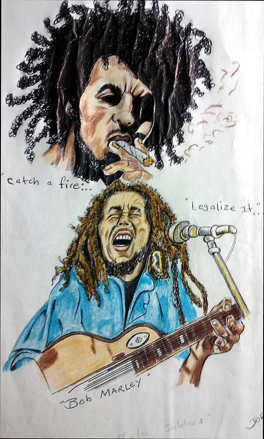 Bob Marley's Legal It by Joedee