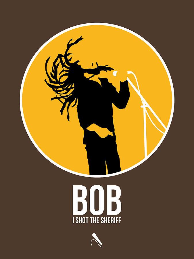 Bob Marley Digital Art - Bob Poster by Naxart Studio