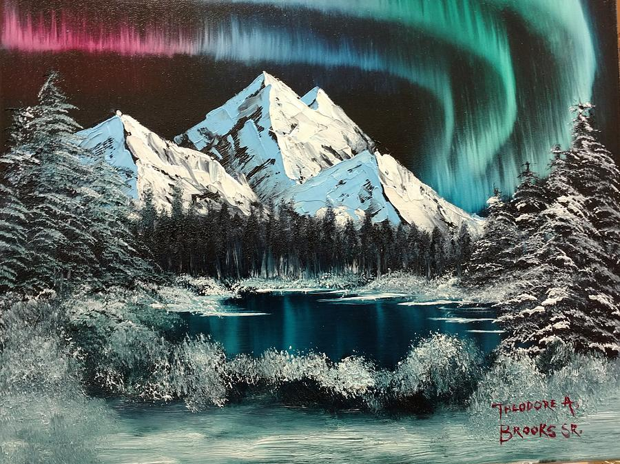 Bob Ross Original Art Paintings For Sale