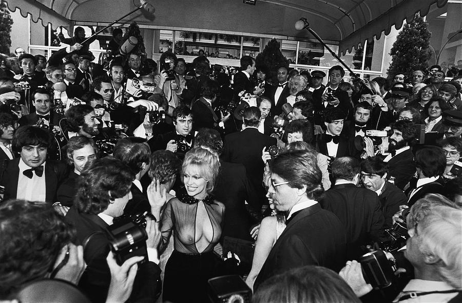 Bobbie Bresee Arrives At The Cannes Photograph by George Rose