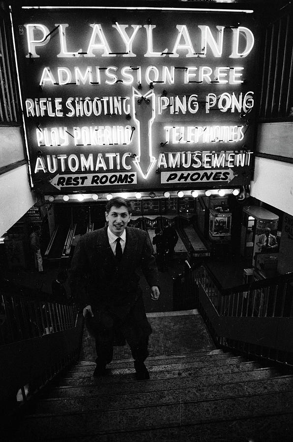 Bobby Fischer At Playland Photograph by Carl Mydans