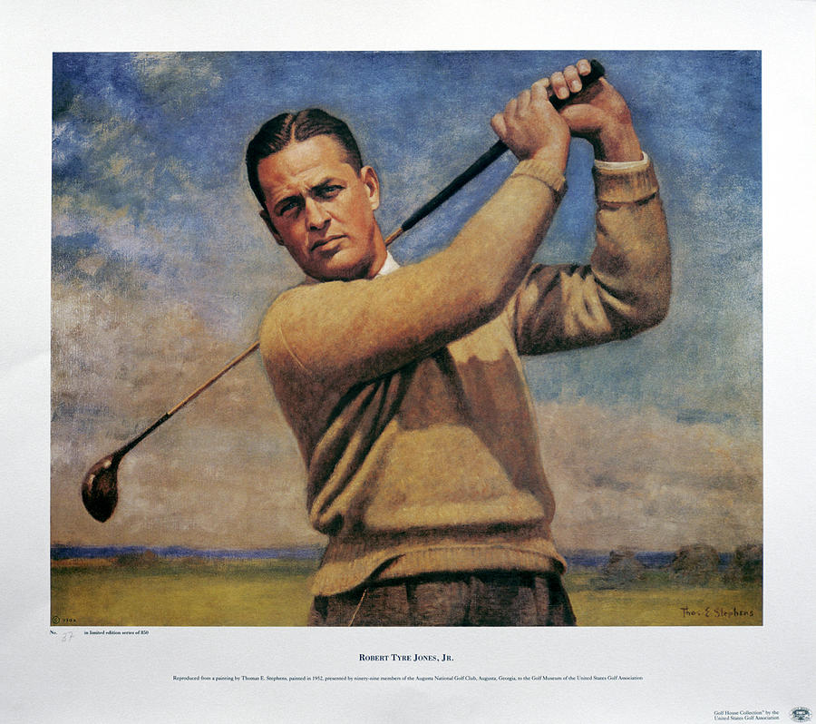 Bobby Jones 1902-72, Three Times Open Photograph by Heritage Images