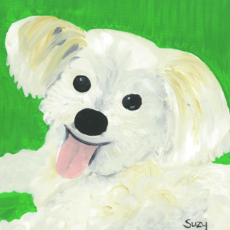 Suzy Painting - Bobby by Suzy Mandel-Canter